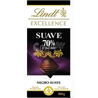 Lindt Chocolate Excellence suave 70% cacao 100 g