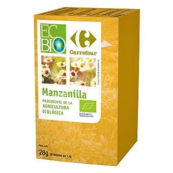 Carrefour Bio Manzanilla de agricultura ecológica 28 g