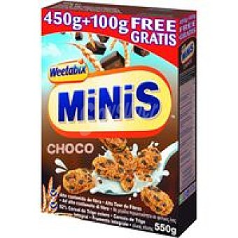 MINIBIX Cereales de chocolate paquete 450+100 g