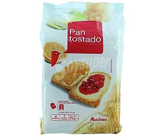 Auchan Pan tostado (30 rebanadas) 270 gramos