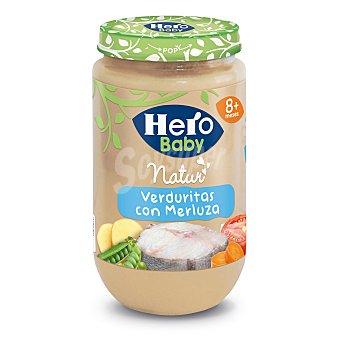 Hero Baby Tarrito de merluza con verduras Tarro 250 g
