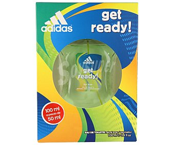 Adidas Colonia de hombre en spray Get ready  100 ml