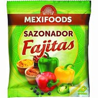 Mexifoods Sazonador para fajitas Paquete 35 g