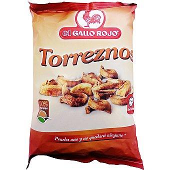 El Gallo Rojo Torreznos 100% natural Bolsa 100 g