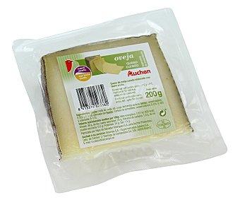Auchan Queso de oveja curado 200 gramos