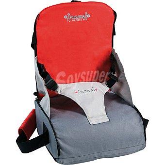 OLMITOS M-202 Bolso silla de viaje en color rojo gris +12 meses