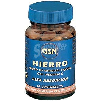 GSN Hierro con vitamina C Bote 60 capsulas