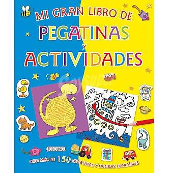 Cuaderno de actividades mi libro de pegatinas y actividades 1