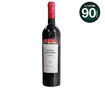 VIÑAS DEL VERO Vino tinto merlot con denominación de origen Somontano Botella de 75 centilitros