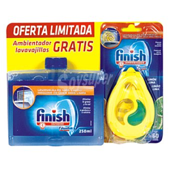 Finish pack limpiamaquinas + desodorante gratis 250 ml