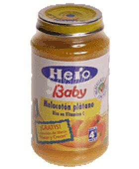 Hero Baby Tarrito melocoton platano a partir 4 meses Tarro 250 g