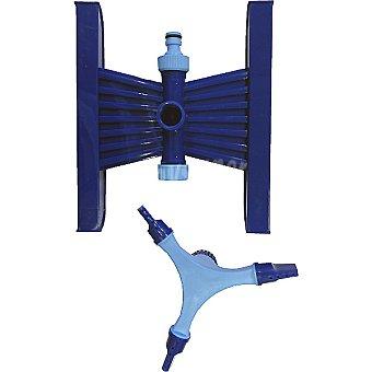 Hipercor Aspersor ajustable de 3 rociadores oscilante con base