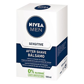 Nivea For Men After Shave bálsamo Sensitive Frasco 100 ml