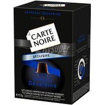 CARTE NOIRE Café Nº5 descafeinado 53 gramos