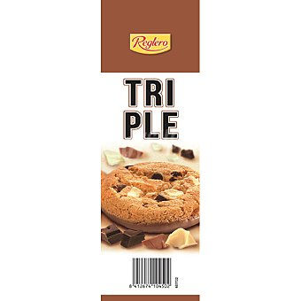 Reglero Cookies triple chocolate Paquete 200 g