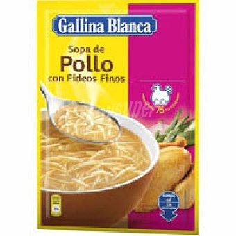 Gallina Blanca Sopa de pollo con fideos Sobre 94 g