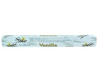 STAMFORD Barritas de incienso natural con olor a vainilla y sin sustancias toxicas Pack de 20 Unidades