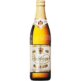 Radeberger Cerveza rubia Pilsener botella 50 cl Botella 50 cl