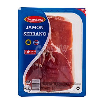 Incarlopsa Jamón curado lonchas Paquete 240 g