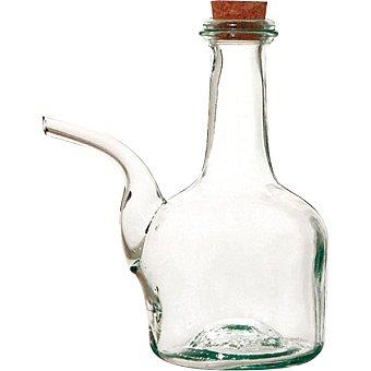 QUID Barral de vidrio con tapón de corcho 1/2 l