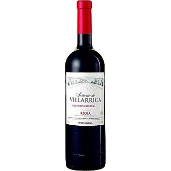 SEÑORIO DE VILLARRICA Vino tinto reserva especial D.O. Rioja botella 75 cl