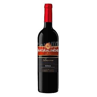 Moralinos Vino D.O. Rioja tinto reserva 75 cl