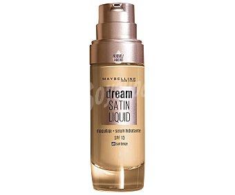 Maybelline New York Base de maquillaje con sérum hidratante tono 048 Sun beige Dream satin liquid