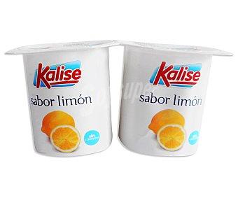 Kalise Yogur sabor Limón Pack 4 Unidades de 125 Gramos