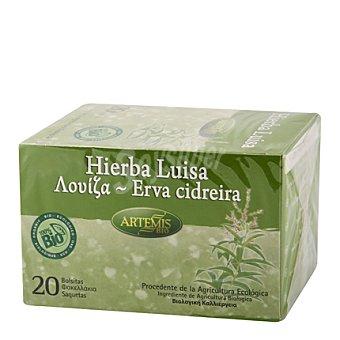 Artemis Bio Infusión hierba luisa filtros 20 ud