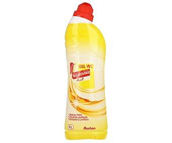 Auchan Gel limpiador WC líquido con lejía 4 en 1 1 litro