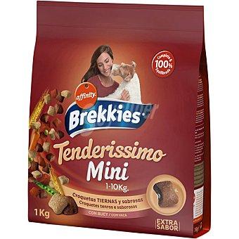 BREKKIES Tenderissimo Croquetas tiernas con buey para perro paquete 1 kg Paquete 1 kg