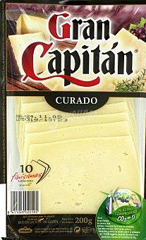 Gran Capitán Queso mezcla Bandeja 200 g
