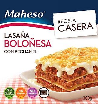 Maheso Lasaña a la boloñesa con bechamel 250 g