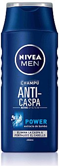 Nivea For Men Champú anticaspa con extracto de bambú 250 ml