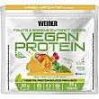 Vegan Protein de guisante y arroz sabor mango y té matcha sin lactosa y sin gluten Sobre 30 g Weider