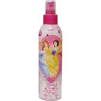 DISNEY Princesas Body Fresh Colonia infantil Frasco 200 ml