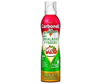 CARBONELL Aceite de oliva para ensaladas spray 200 ml