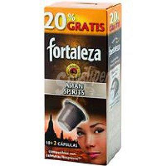FORTALEZA Café Asian Spirits caja 12 monodosis