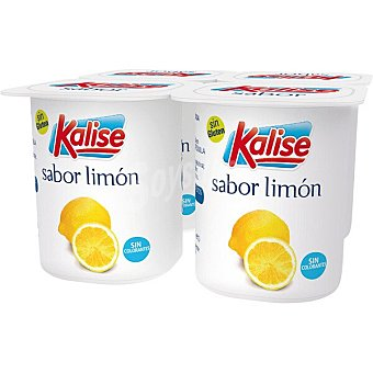 Kalise Yogur sabor limón Pack 4 x 125 g