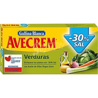 Avecrem Gallina Blanca Caldo de verduras -30% sal Envase 10 pastillas