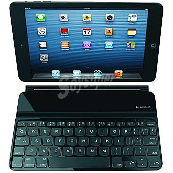 LOGITECH Teclado Ultrathin Cover Para ipad mini en color negro