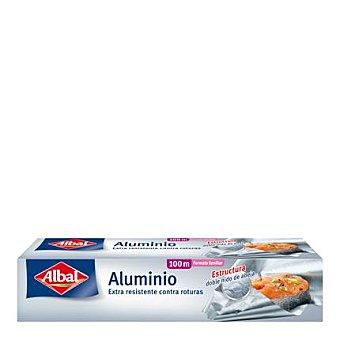 Albal Papel de aluminio doméstico Rollo 100 m