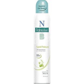 Palmolive Desodorante suave frescura con extracto de oliva y té sin alcohol anti-transpirante Spray 200 ml