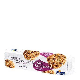 Florbú Cookie con chocolate sin azúcar añadido 185 g