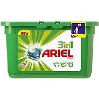 Ariel Detergente en cápsula 3en1 Caja 12 dosis