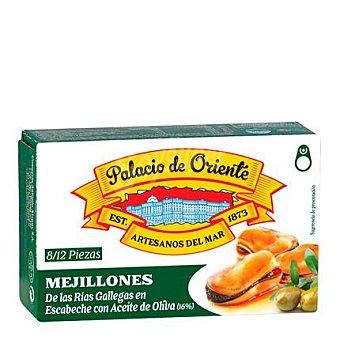 Palacio de Oriente Mejillones rías gallegas 8/12 ud. con aceite de oliva 68 g