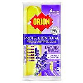 Orion Pinza antipolilla lavanda 2u