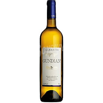 GUNDIAN Vino blanco albariño D.O. Rías Baixas botella 75 cl 75 cl