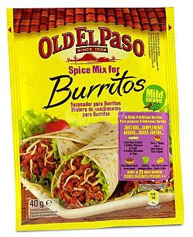 Old El Paso Sazonador burrito Sobre 40 g