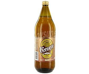Auchan Cerveza Botella 1 Litro